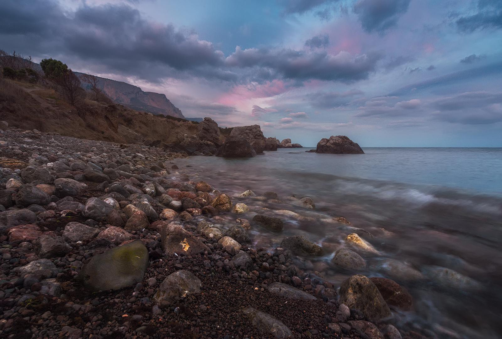 Фото диких пляжей в крыму